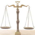 Work life balance doesn't usually look like the scales of justice.