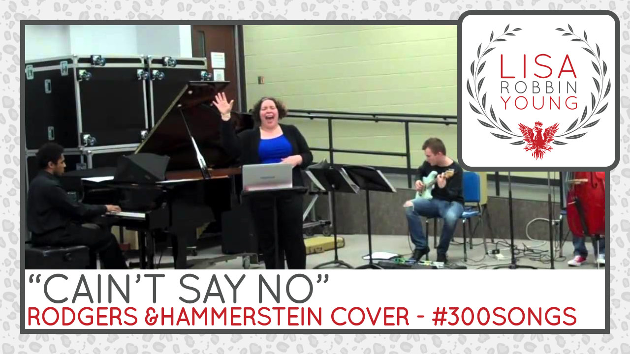 Cain't Say No. Rodgers & Hammerstein Cover.