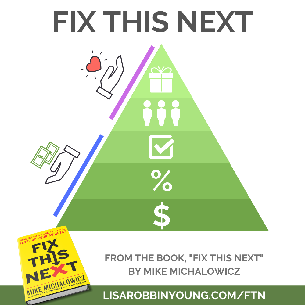 Fix This Next methodology by Mike Michalowicz